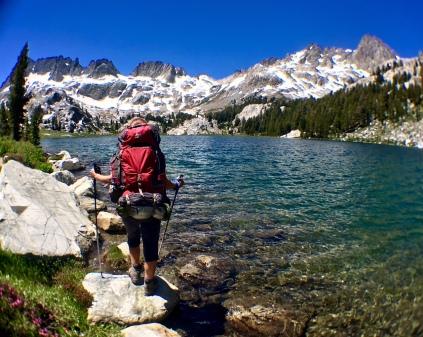 Ediza Lake, Ansel Adams Wilderness, Eastern Sierra, CA