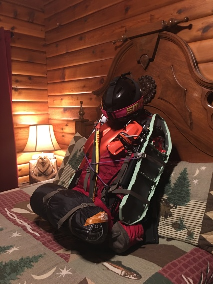 Winter backpacking is damn heavy!