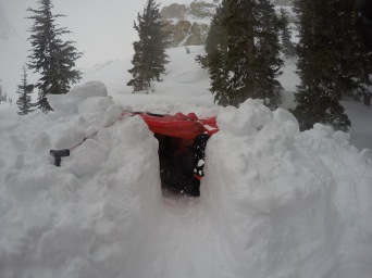 Snow Trench