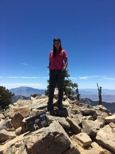 San Bernardino Peak (10,649'), San Gorgonio Wilderness, CA