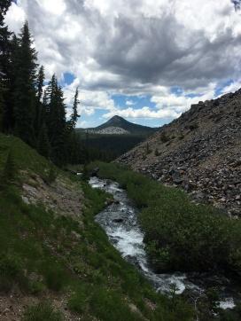 Fall Creek along Newberry Lava Flow