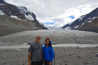 Athabasca Glacier, Columbia Icefields, Canada