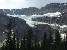 Crowfoot Glacier, Trans Canada Highway, Banff NP