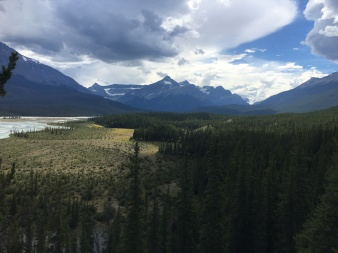 View off Trans Canada Highway